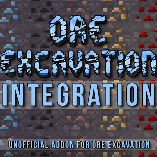 Скачать OreExcavation Integration для Minecraft 1.12.1