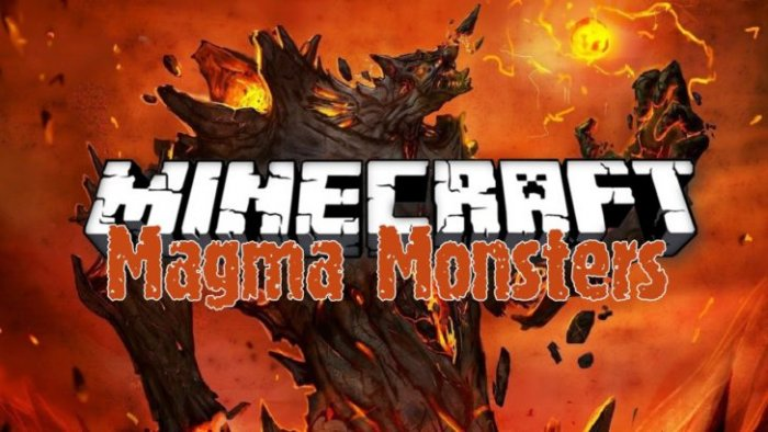 Скачать Magma Monsters для Minecraft 1.12.1