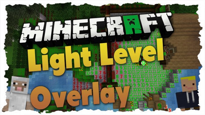 Light Level Overlay Reloaded для Майнкрафт [1.14.3, 1.13.2, 1.12.2]